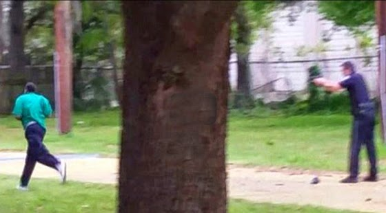 The victim was identified as 50-year-old Walter Scott. (Screen capture from YouTube video)