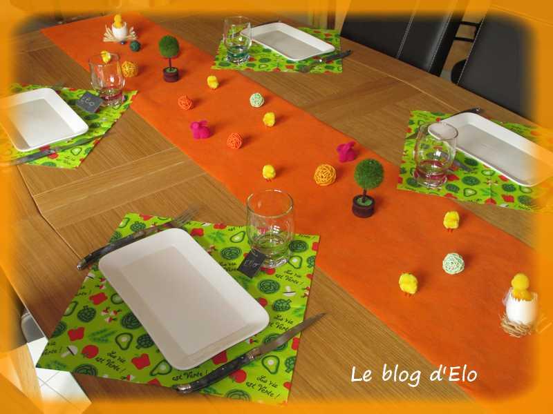 le blog d 39 elo d co de table p ques dans le jardin. Black Bedroom Furniture Sets. Home Design Ideas