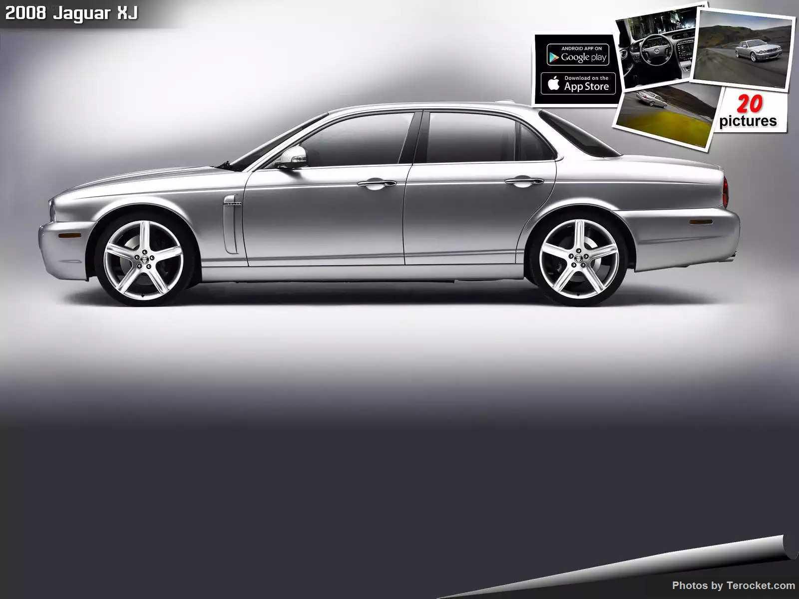 Hình ảnh xe ô tô Jaguar XJ 2008 & nội ngoại thất