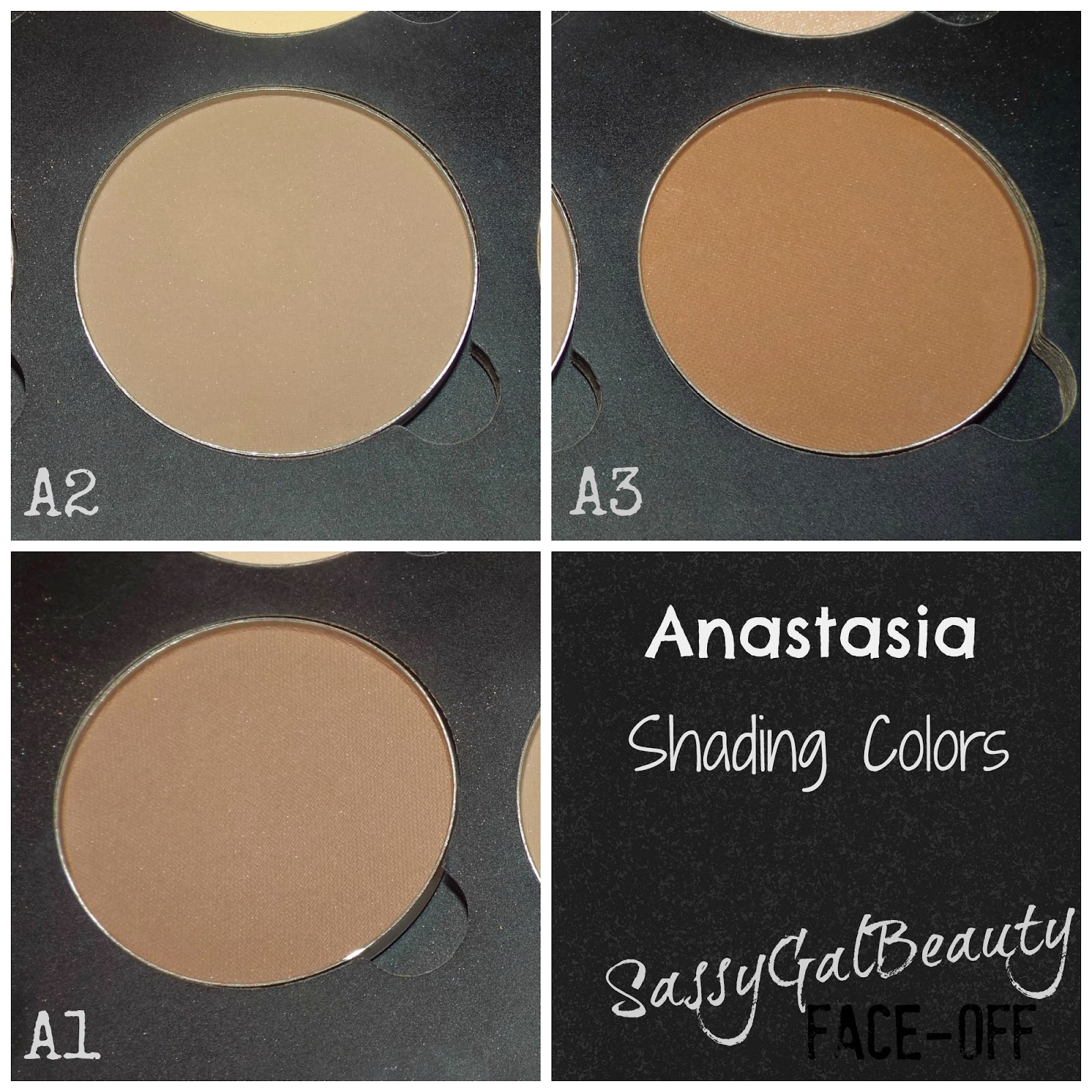 Anastasia Shading Colors