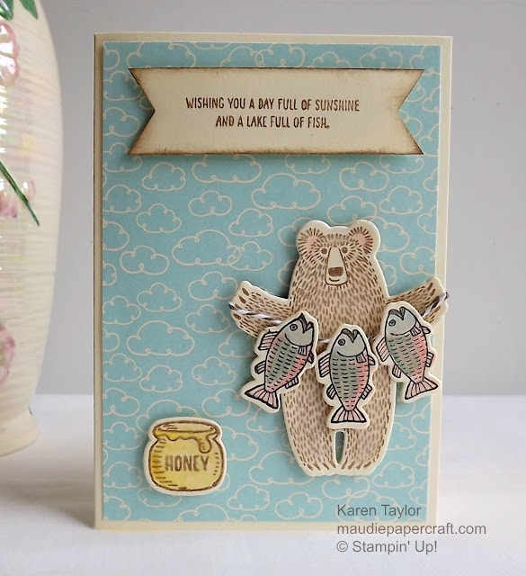 Stampin' Up! Bear Hugs card