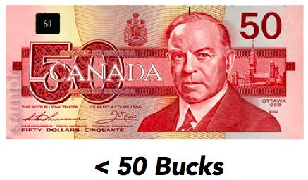 < Fifty Bucks