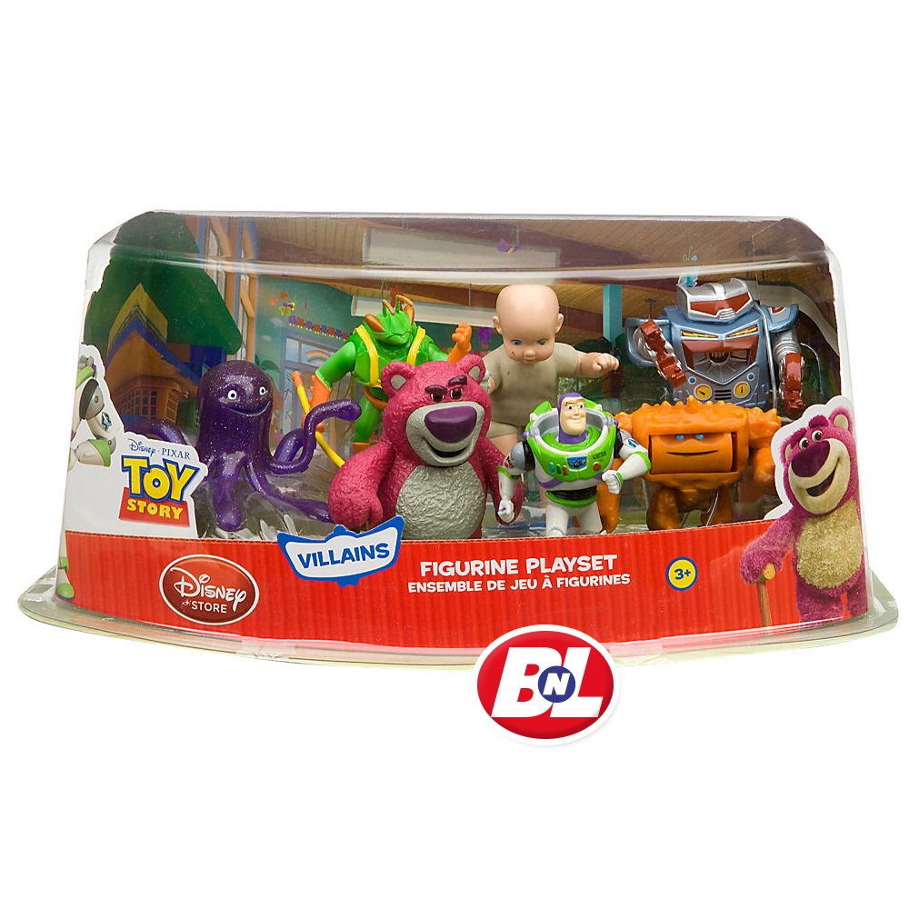 Toy Story Figures : Welcome on buy n large toy story villains figure play set