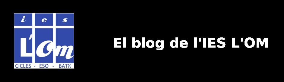 El blog de l'IES L'OM