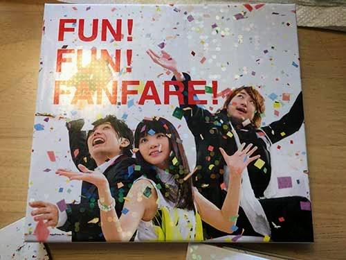いきものがかりのニューアルバム「FUN! FUN! FANFARE!」01