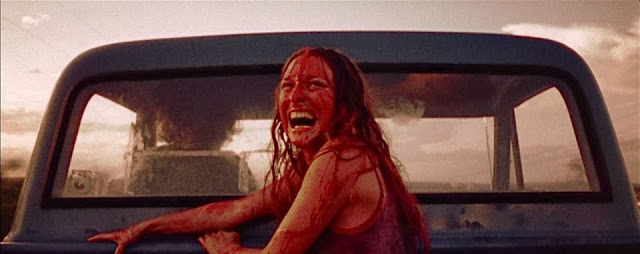 texas chainsaw massacre sally in the truck