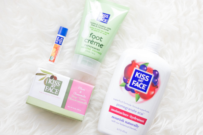 kiss my face moisturizing products review