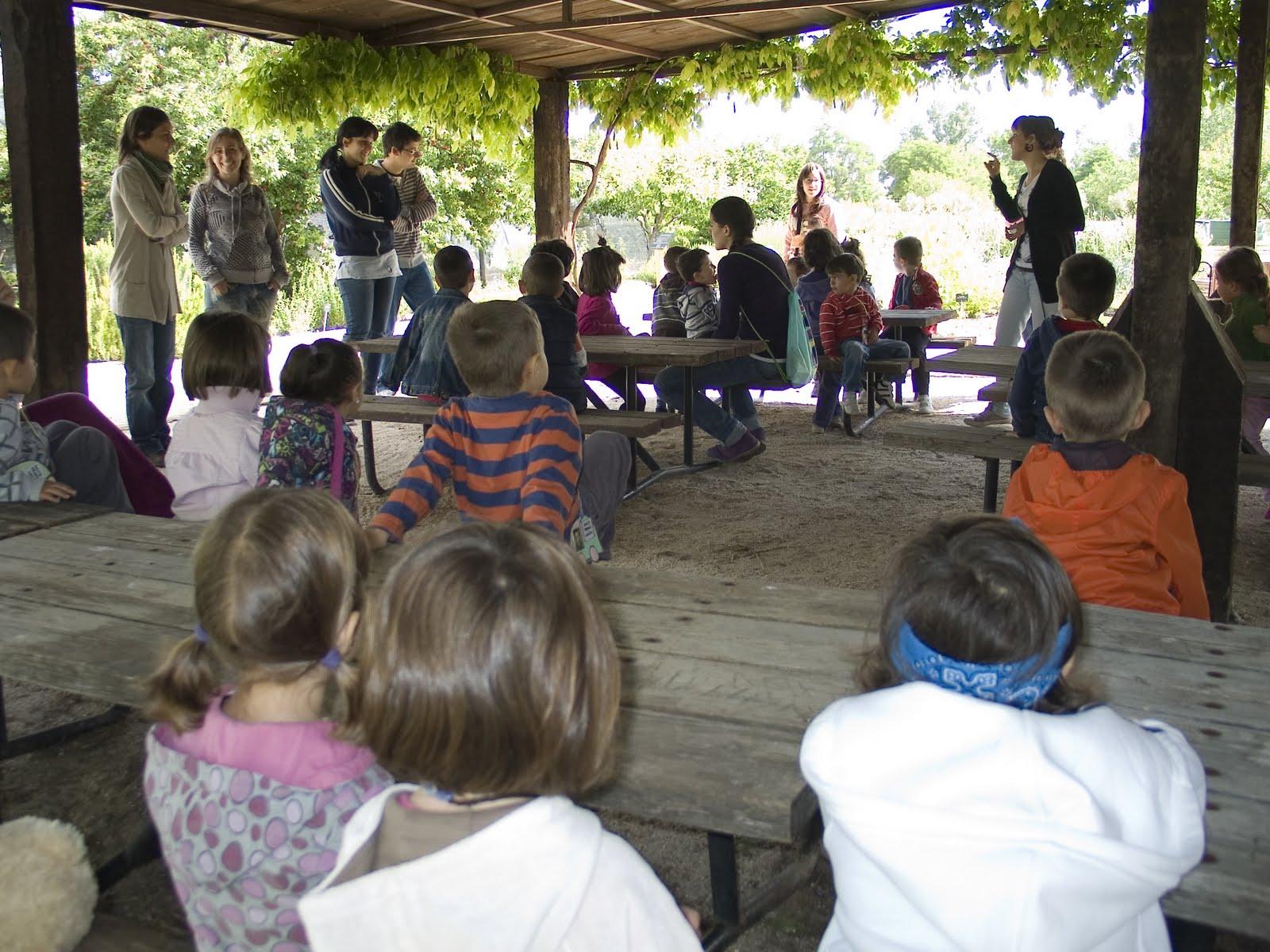 Familias y amigos de platero visita al jard n bot nico for Amigos del jardin botanico
