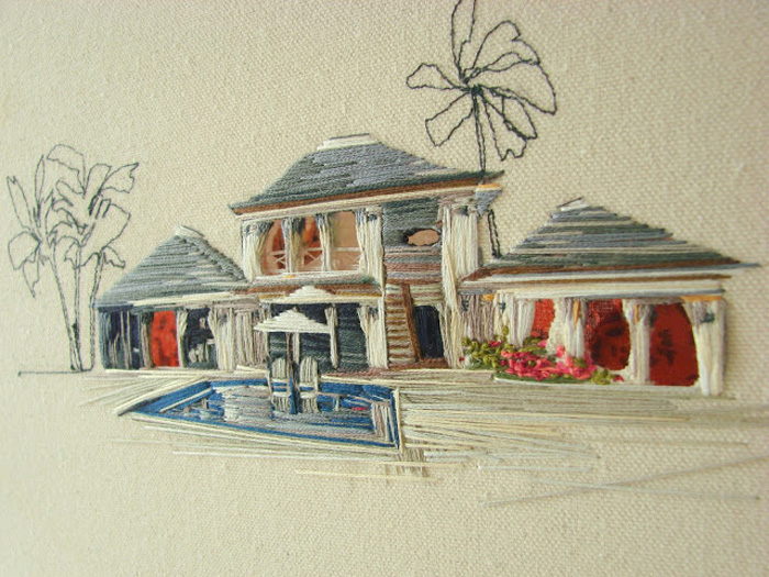stephanie k. clark an embroidery houses
