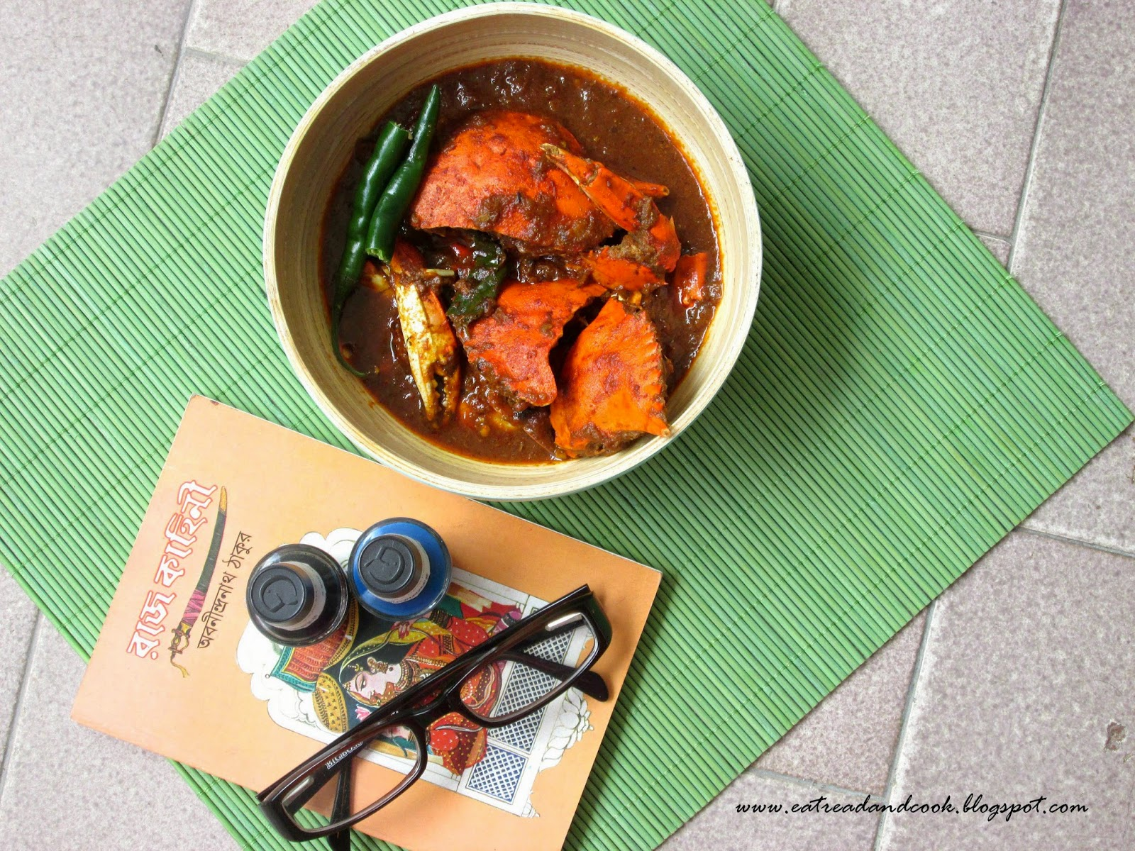 Indian crab curry recipe