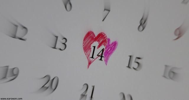14 de febrero es San Valentin