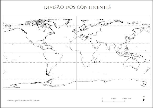 Dibujos de mapas del mundo para imprimir y colorear  Colorear a Heidi