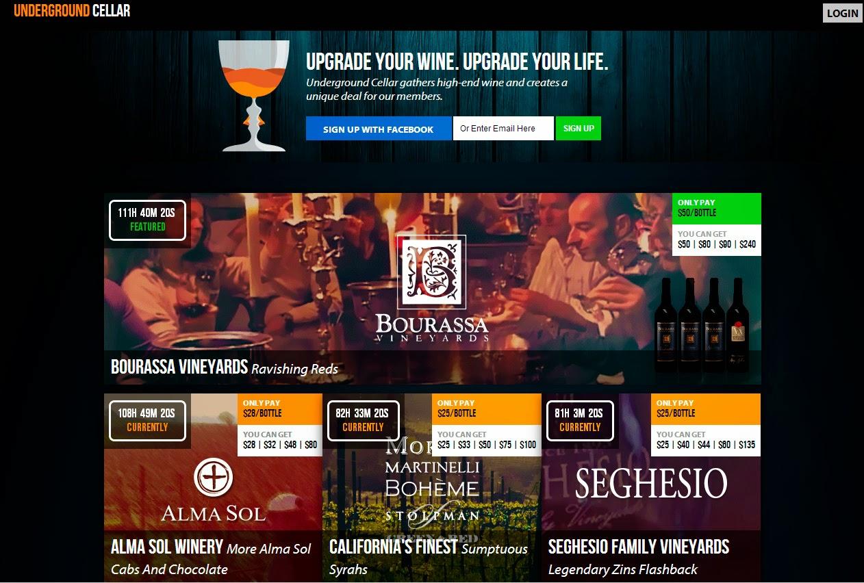 Venta de vino Online underground cellar