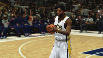 NBA 2K13 Paul George Pacers vs Knicks Playoffs Update