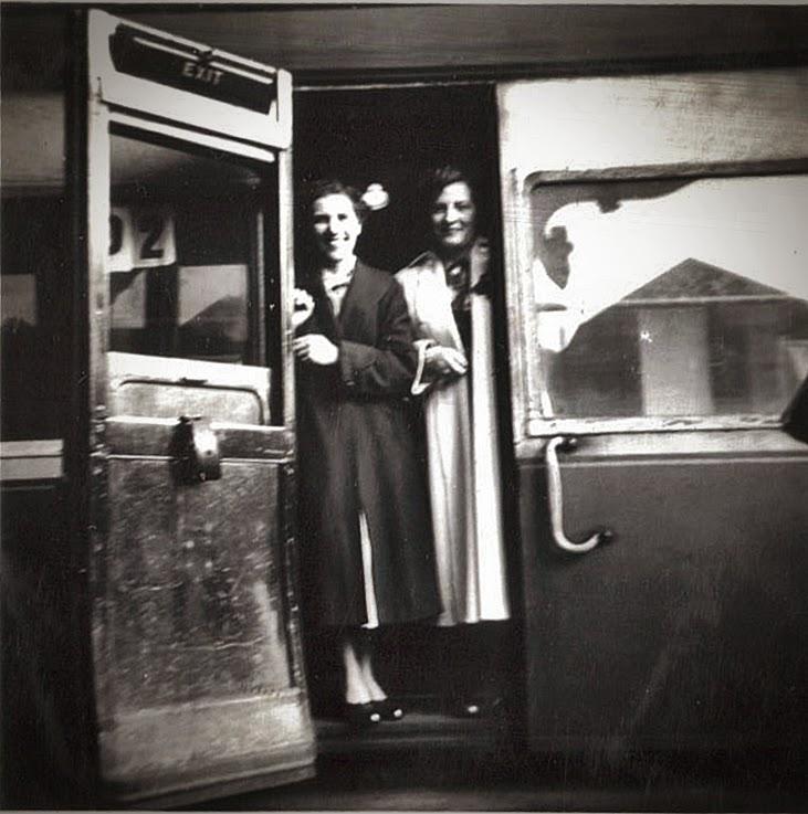 1955 train journey