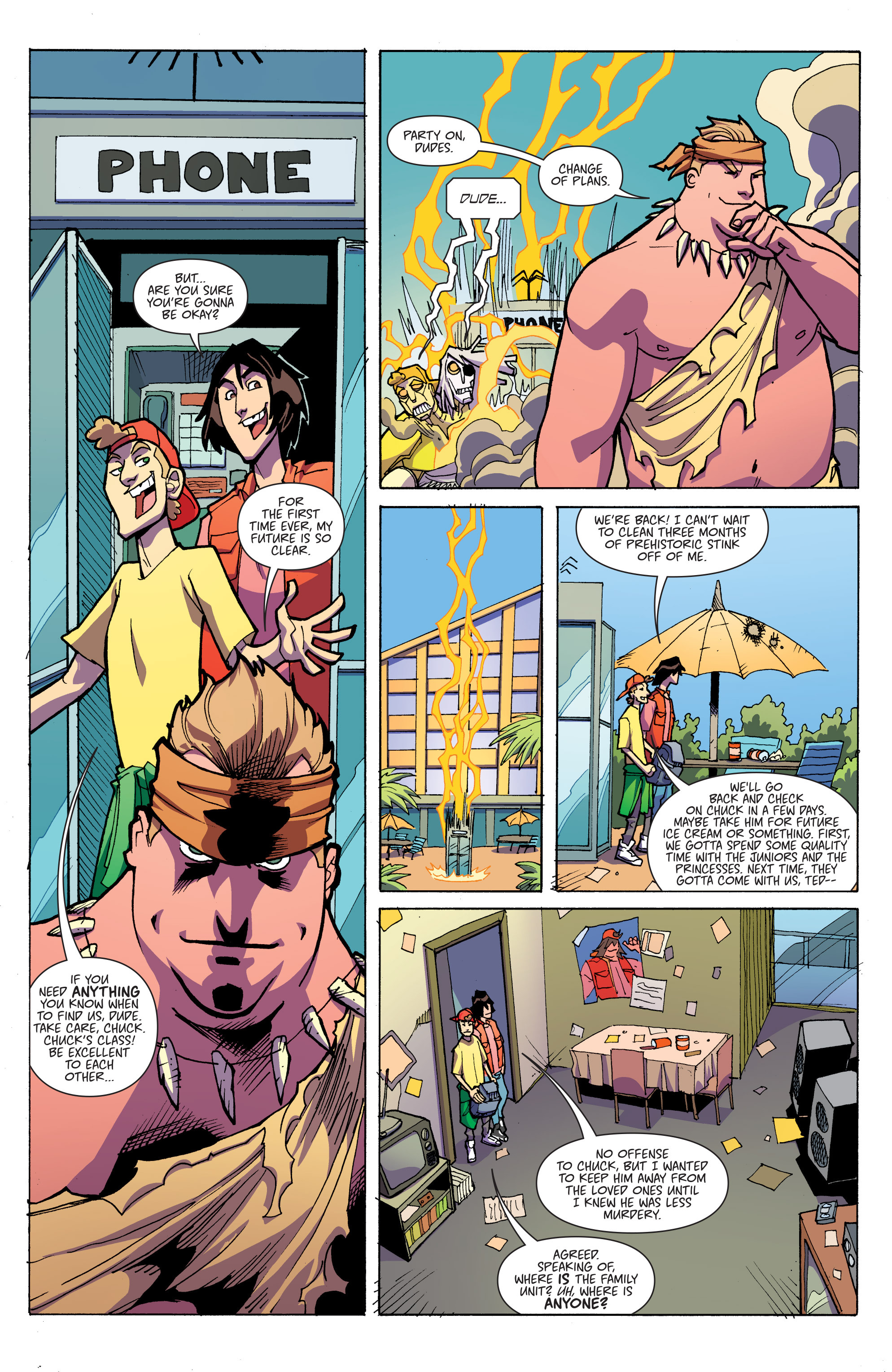 Read online Bill & Ted's Most Triumphant Return comic -  Issue #3 - 16