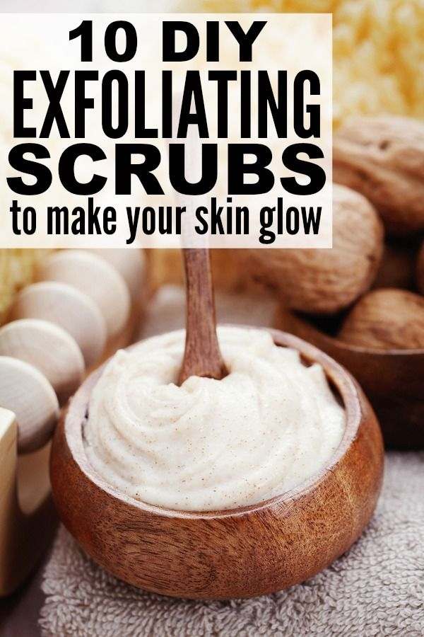 10 DIY Exfoliating Scrubs to Make Your Skin Glow