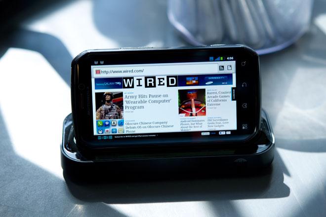 Motorola Photon Ponsel Android Berukuran Superbesar ...