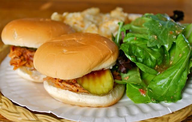 Pulled Pork Sliders via The Taste Tester