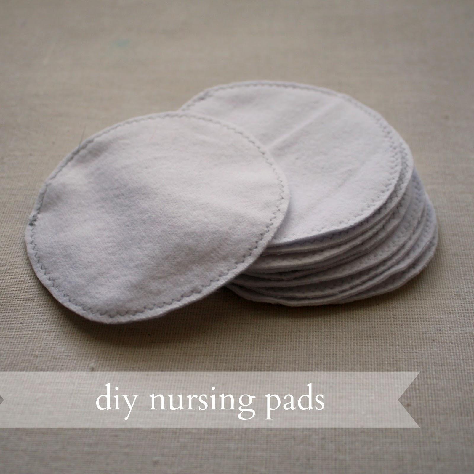 Diy Cloth Pads Tutorial: Live A Little Wilder: Diy Nursing Pads {tutorial}