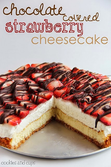 http://cookiesandcups.com/chocolate-covered-strawberry-cheesecake/