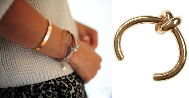 DIY Celine Inspired Knot Bracelet