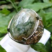 Cincin Batu Permata Badar Lumut - SP628