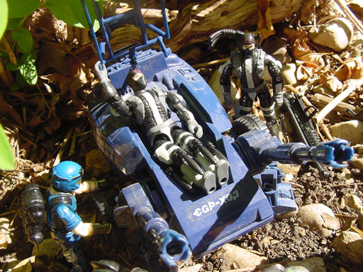 2001 Fast Blast Viper,1985 ASP, 1997 Destro, 1998 Cobra Trooper