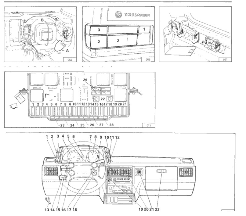 manuales de mec u00e1nica y taller  volkswagen gol gts 1 8 1988