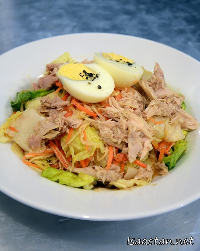 #7 Bad Boy Eggy Tuna Salad - RM8