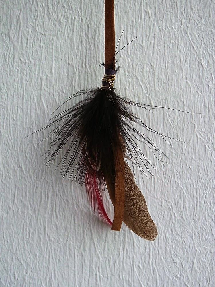 Dans les tiroirs comme une navajo de jolies plumes dans - Plume dans les cheveux ...