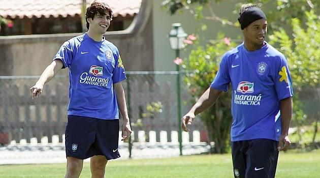 Kaka y Ronaldinho