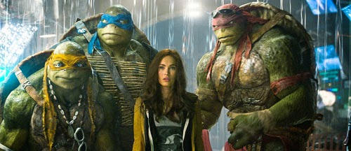 Teenage Mutant Ninja Turtles (2014) new on DVD and Blu-Ray