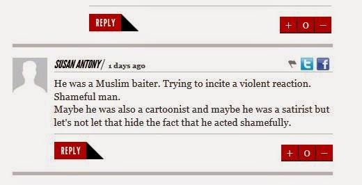 Orang bukan Islam marah dengan karikatur Stephane Charbonnier