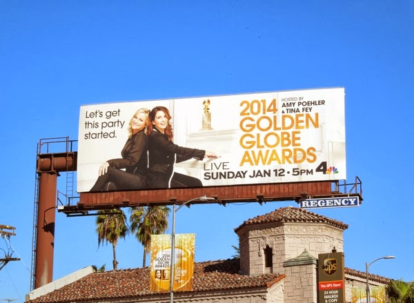 2014 Golden Globe Awards billboard