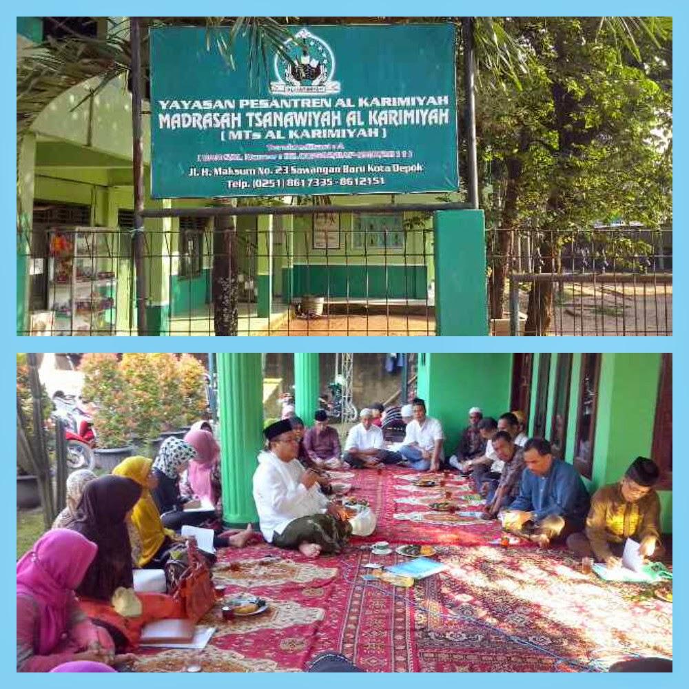 Edukasi kesehatan kepada calon jama'ah Haji KBIH Al-Karimiah bersama  Susu Haji Sehat Depok