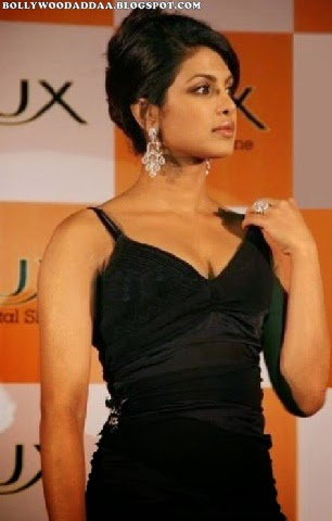 Priyanka Chopra at LUX Soap programme launch hot pics in black long skirt hd pics