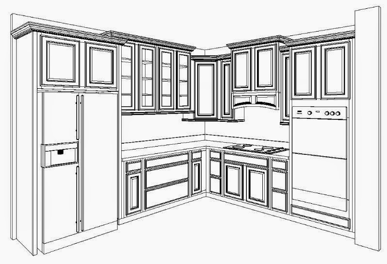 Pretty Kitchen Cabinet Layouts Picture