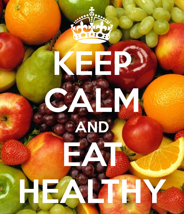 Eat healthy now