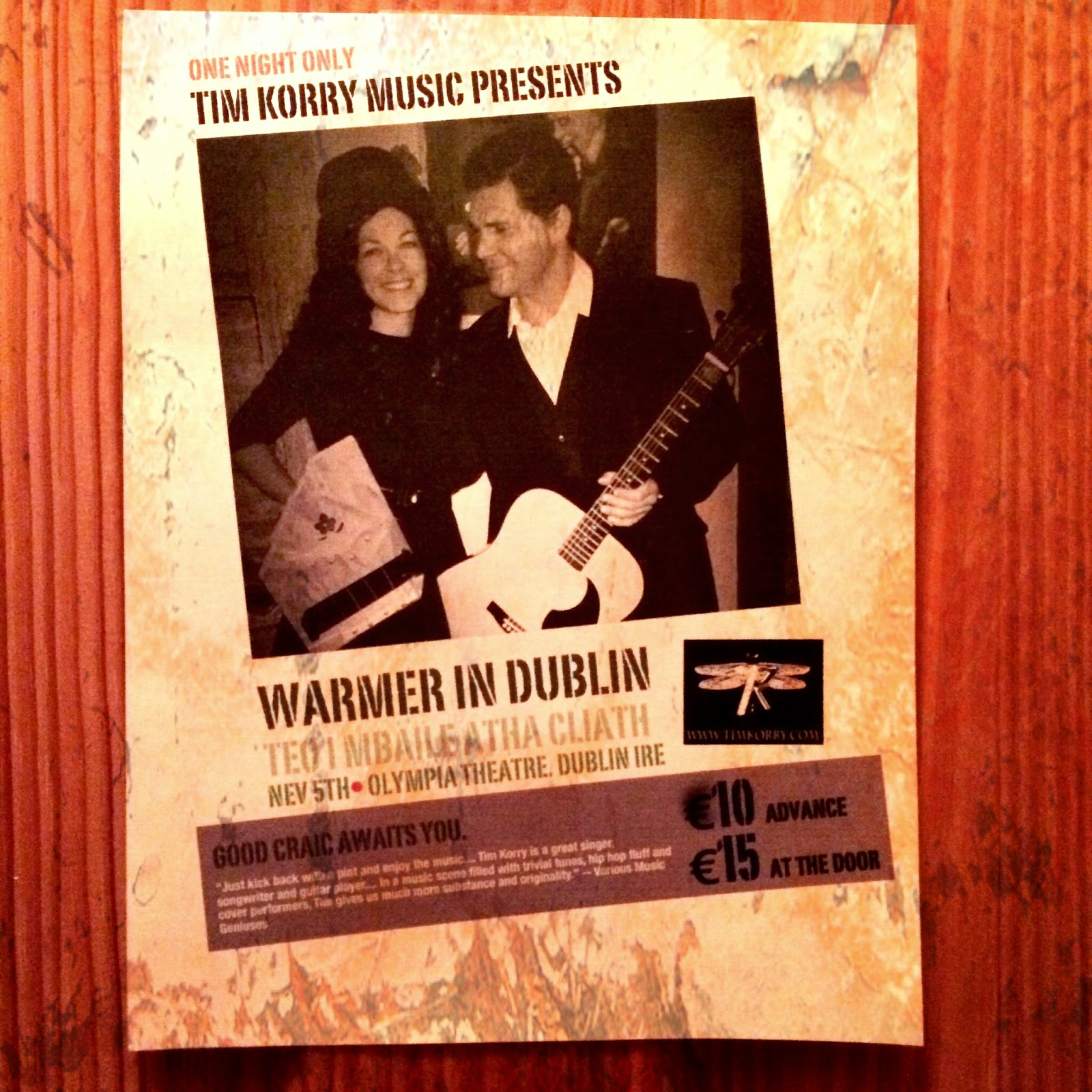 http://timkorry.bandcamp.com/track/warmer-in-dublin