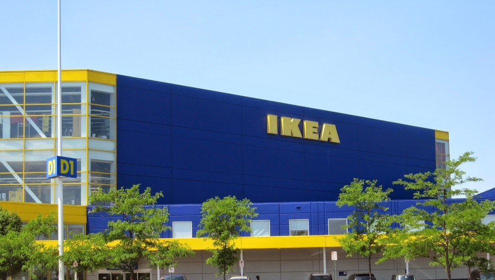 Village of bellevue march 2015 for Ikea driving directions