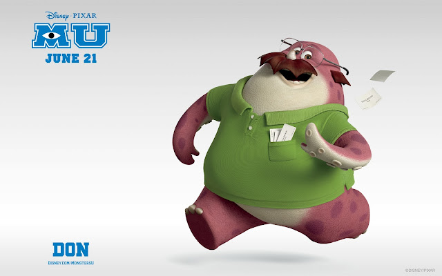 Don In Monsters University