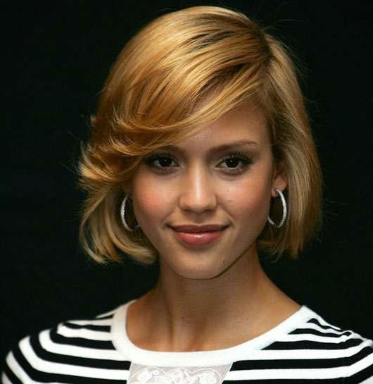 Jessica Alba Short Celebrity Hairstyles
