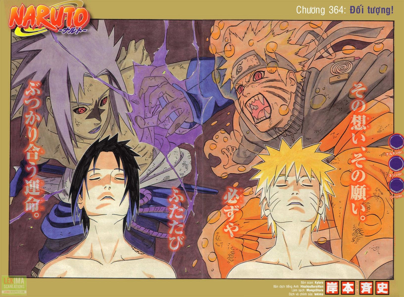 Naruto chap 364 Trang 1 - Mangak.info