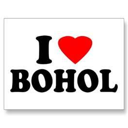 i love bohol