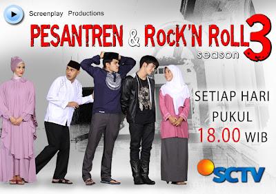Foto Pemain Pemeran Sinetron Pesantren & Rock n Roll Season 3 SCTV