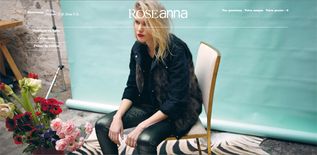 Collection hiver 2013-2014 Roseanna