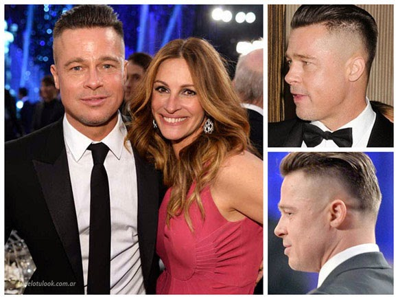 cortes de pelo 2014 Brad Pitt