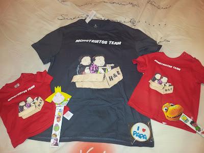 Regalos para el Día del padre. Camisetas