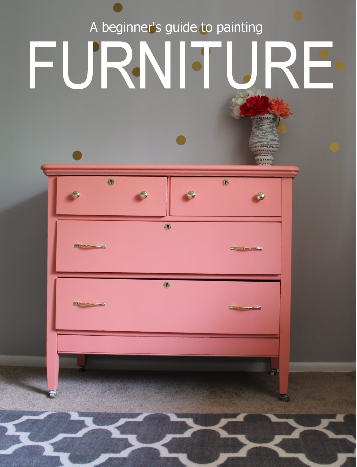 Demree Nicole How To Paint Furniture Don 39 T Throw It Away Make It New Again